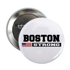 """BOSTON STRONG U.S. Flag 2.25"""" Button (100 pack)"""