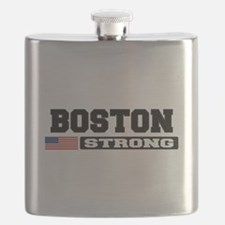 BOSTON STRONG U.S. Flag Flask