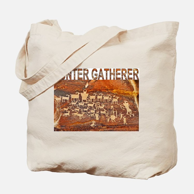 Hunter Gatherer Rock Art Tote Bag