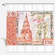 1959 Laos That Ing Hang Stupa Postage Stamp Shower
