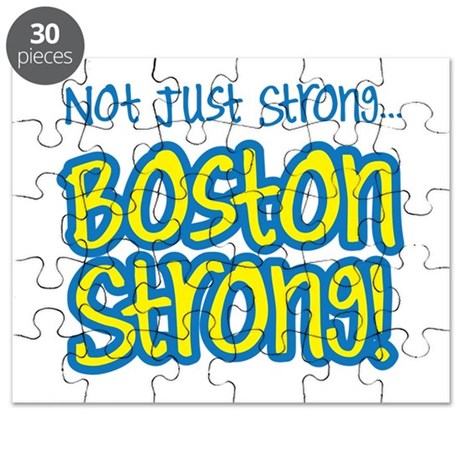 Not just strong...Boston Strong! Puzzle