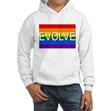 Evolve with GBLT Pride Flag Hoodie