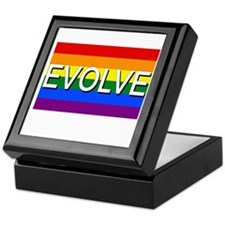 Evolve with GBLT Pride Flag Keepsake Box