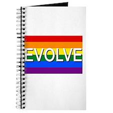 Evolve with GBLT Pride Flag Journal