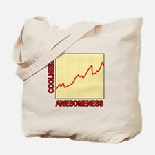 Awesomeness Graph Tote Bag