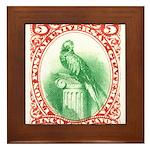 Antique 1881 Guatemala Quetzal Bird Postage Stamp
