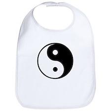 yin yang Bib