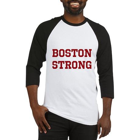 Boston Strong (Red) Baseball Jersey