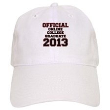 OFFCIAL ONLINE COLLEGE GRADUATE 2013 RED Baseball