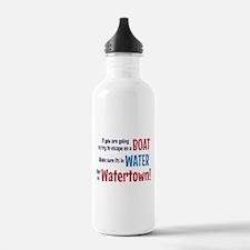Escape from Watertown Water Bottle