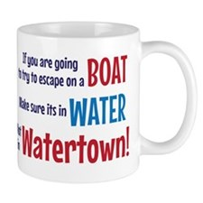 Escape from Watertown Mug