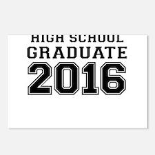 HIGH SCHOOL GRADUATE 2016 Postcards (Package of 8)