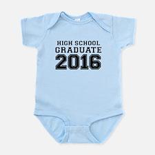 HIGH SCHOOL GRADUATE 2016 Body Suit