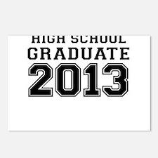 HIGH SCHOOL GRADUATE 2013 Postcards (Package of 8)