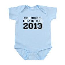HIGH SCHOOL GRADUATE 2013 Body Suit