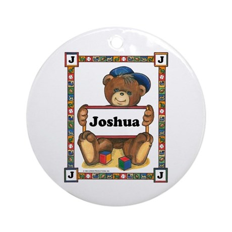 Ornament for Joshua (Round)