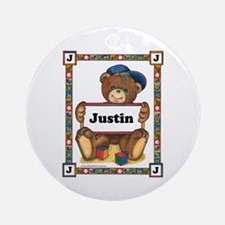 Ornament for Justin (Round)