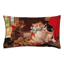 Vintage Kitten Pillow Case