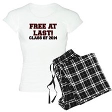 FREE AT LAST CLASS OF 2014 RED Pajamas