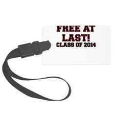 FREE AT LAST CLASS OF 2014 RED Luggage Tag