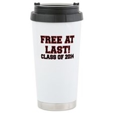 FREE AT LAST CLASS OF 2014 RED Travel Mug