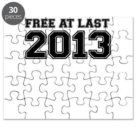 FREE AT LAST 2013 Puzzle
