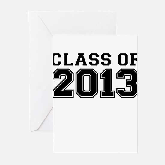 CLASS OF 2013 Greeting Cards (Pk of 20)