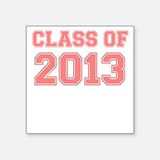 CLASS OF 2013 VARSITY PINK Sticker