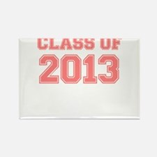 CLASS OF 2013 VARSITY PINK Rectangle Magnet (10 pa