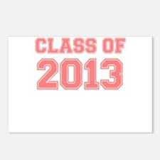 CLASS OF 2013 VARSITY PINK Postcards (Package of 8