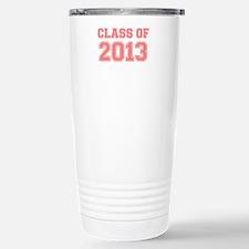 CLASS OF 2013 VARSITY PINK Travel Mug