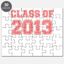 CLASS OF 2013 VARSITY PINK Puzzle