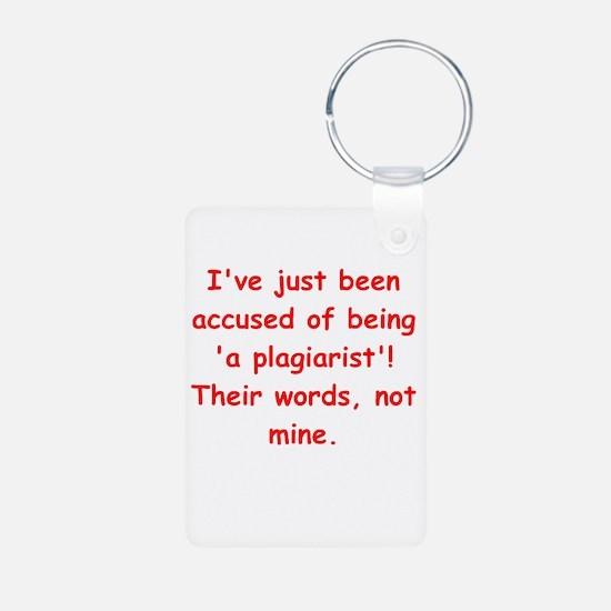 writing joke Keychains