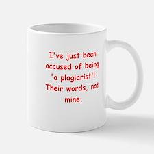 writing joke Mug
