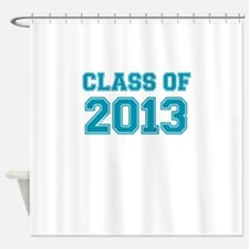 CLASS OF 2013 VARSITY BLUE Shower Curtain