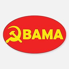 Obama Hammer & Sickle Rectangle Sticker 10 pk