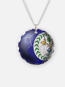 Belize Football Necklace