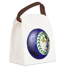 Belize Football Canvas Lunch Bag