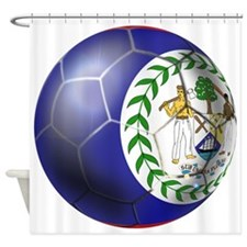 Belize Football Shower Curtain