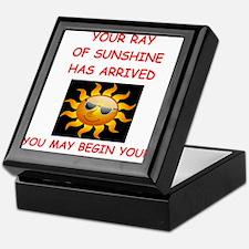 sunshine Keepsake Box
