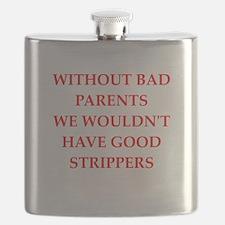 stripperspimp,schmuck,prick Flask
