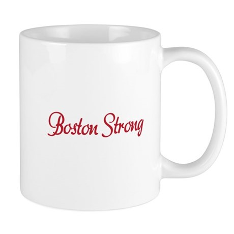 Boston Strong Script Mug
