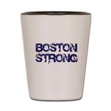 Boston Strong Block Destroy Shot Glass