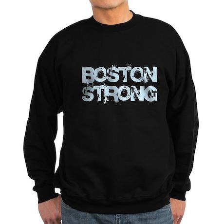 Boston Strong Block Destroy Sweatshirt (dark)
