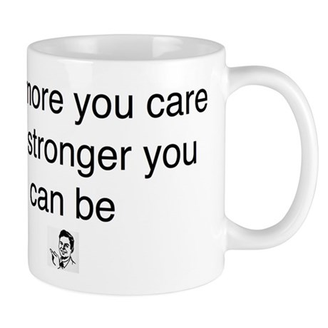 caring words Mug