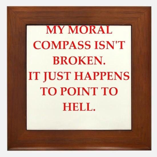 immoral Framed Tile