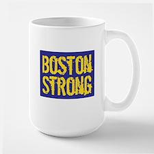 Boston Strong Yellow & Blue Mug