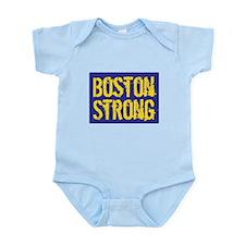 Boston Strong Yellow & Blue Infant Bodysuit