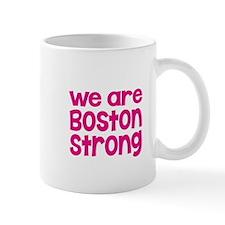 We Are Boston Strong Pink Mug