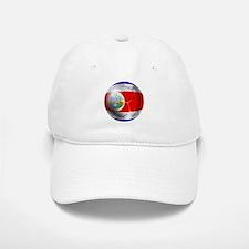 Costa Rica Soccer Ball Baseball Baseball Cap